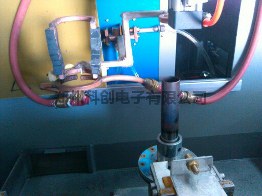 Bullet shell induction annealing line